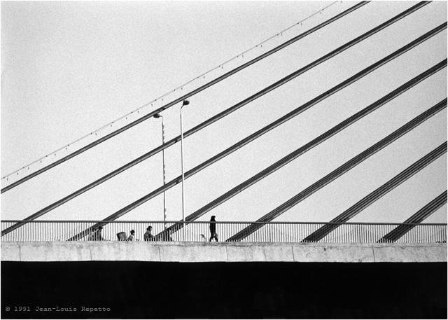 Canton - Pont à haubans sur la rivière des perles