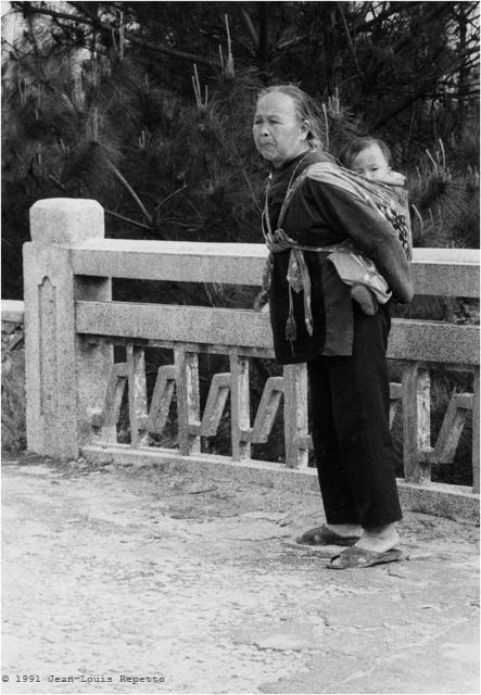 Guangdong - Grand-mère de Conghua