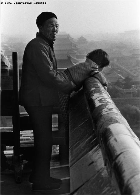 Pékin - Au-dessus de la Cité interdite