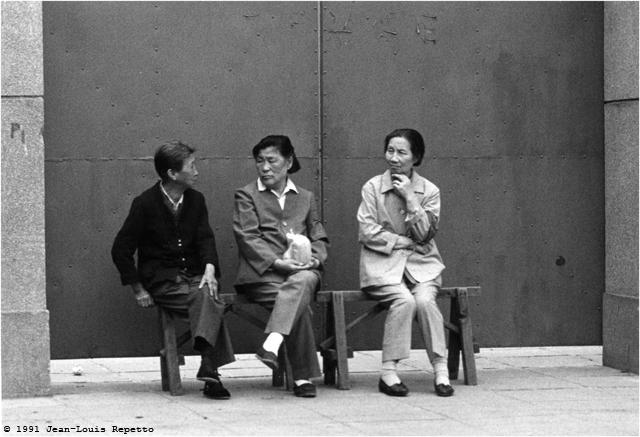 Pékin - Femmes aux trétaux