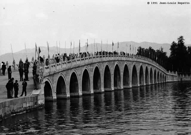 Palais d'été - le pont aux 17 arches