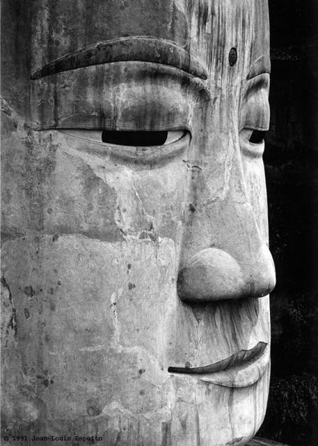 Sichuan - Le grand bouddha de Leshan
