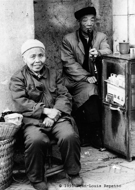 Sichuan - Marchands de cigarettes