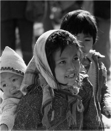 Yunnan - Enfants du Xichuangbanna