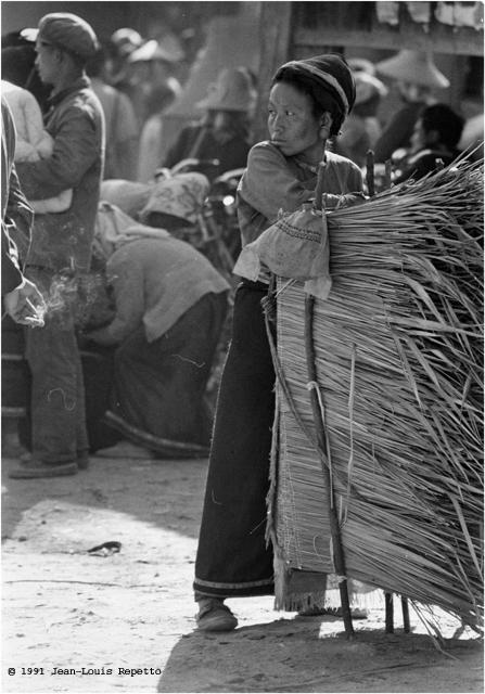 Yunnan - Marché près de Jinghong
